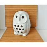 Image of Vintage Owl Lantern Candle Holder