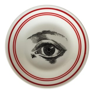 "Chase & Scout ""Eye of the Bee Holder"" Fornasetti Style Plate"