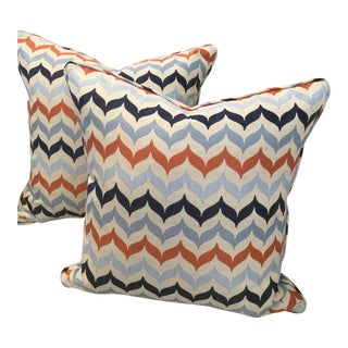 Kravet Andora Castaway Pillows - A Pair