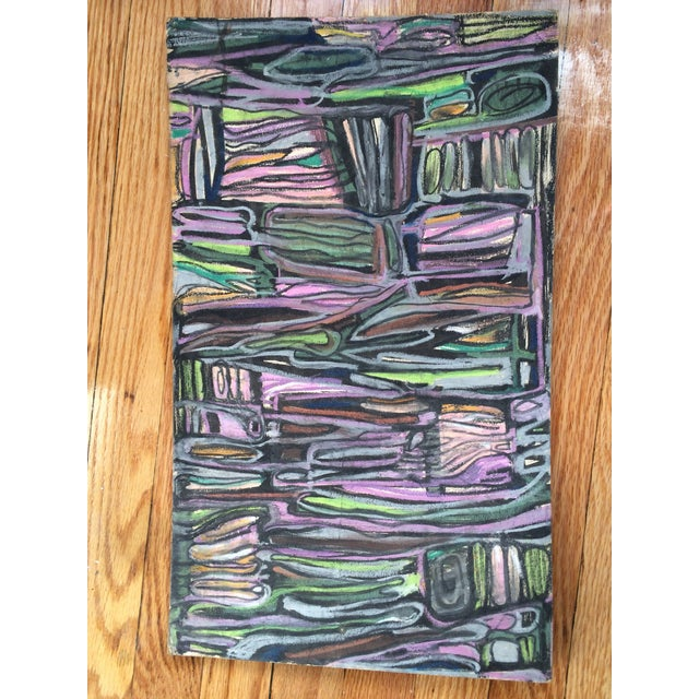 Pastels on Board Modern Art Interiors - Image 6 of 7
