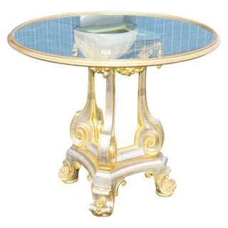 Directoire Style Gilt Painted & Mirrored
