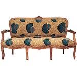 African Print Seashell Print Sofa