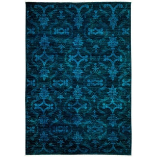 """Vibrance Hand Knotted Area Rug - 6'7"""" X 9'6"""""""