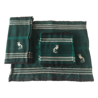 Vintage Peruvian Handwoven Table Linens - S/23