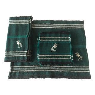 Vintage Peruvian Handwoven Table Linens - S/23
