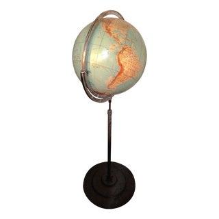 Vintage Globe on Pedestal