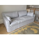 Image of Restoration Hardware 7' Belgian Track Arm Sofa