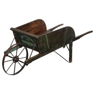 New England Painted Wheelbarrow