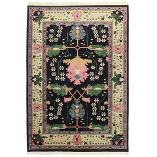 RugsinDallas Hand Knotted Wool Indian Rug - 6' X 8'6""
