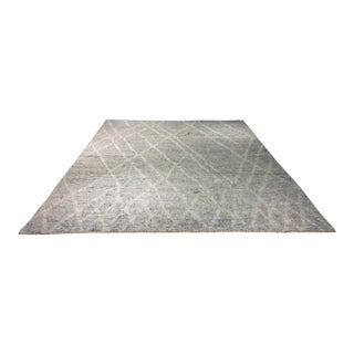 "Contemporary Moroccan Large Rug - 8'9""x11'10"""