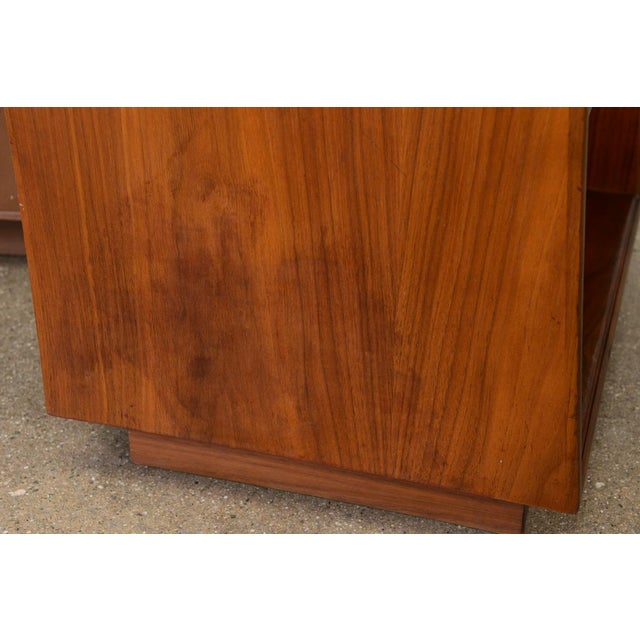 Drexel Declaration Walnut Nightstands- A Pair - Image 6 of 7