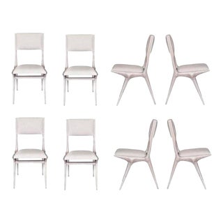 Set of Eight Boone Dining Chairs