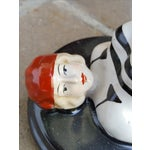 Image of Vintage Art Deco Bathing Beauty Ceramic Statue