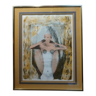Ruffino Tamayo - Female Torso -Limited Edition Lithograph -Pencil Signed