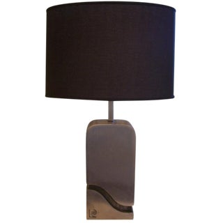 Pierre Cardin Table Lamp (Signed)