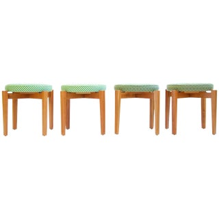 Set of Jens Risom Stools