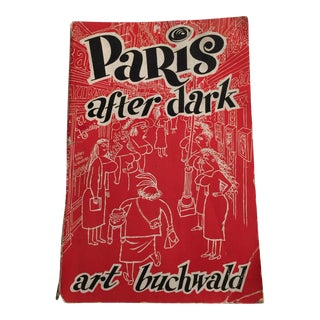 1950s 'Paris After Dark' Guidebook
