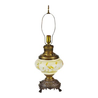 Miller Co. Hand Painted Electrified Juno Lamp