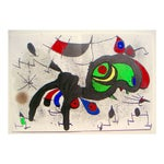Image of Miró Ram Original Color Lithograph