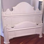 Image of White King Size Bed Frame