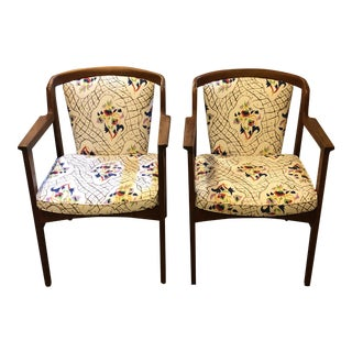 Mid-Century Armstrong Chairs - A Pair