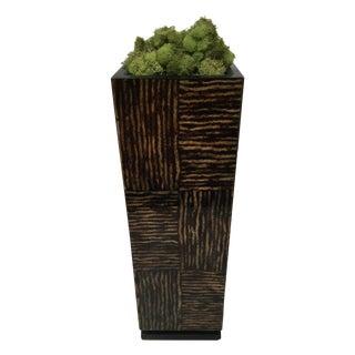 Coco Wood Laminated Vase