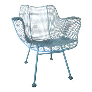 Sculptura Russell Woodard Sky Blue Low Armchair