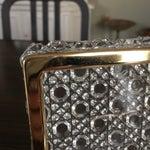 Image of Vintage Crystal Jewelry Box