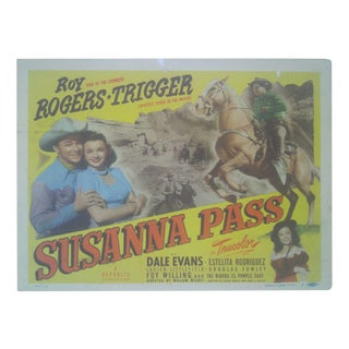 1949 Roy Rogers & Trigger Lobby Cards - Set of 8