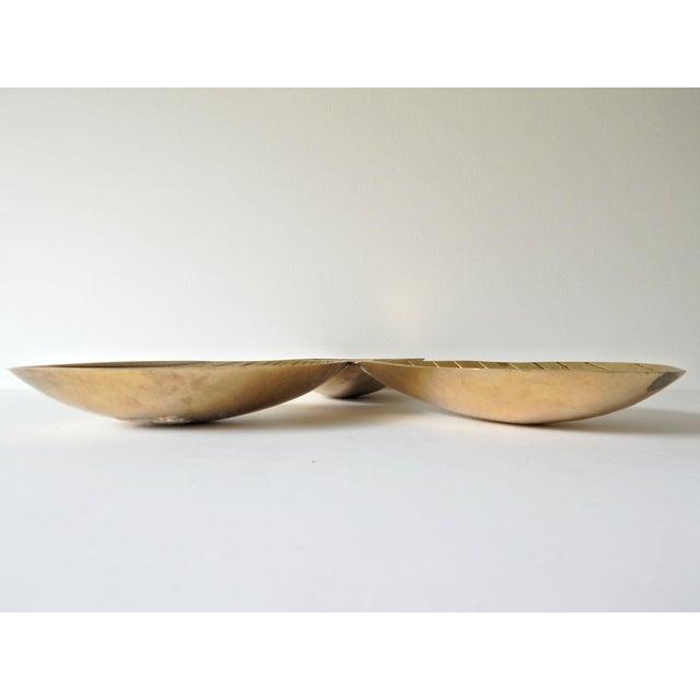 Brass Leaf Design Tray - Image 4 of 4