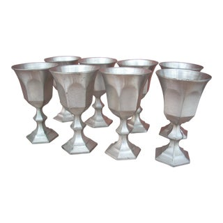 Pewter Cordial Cups - Set of 8