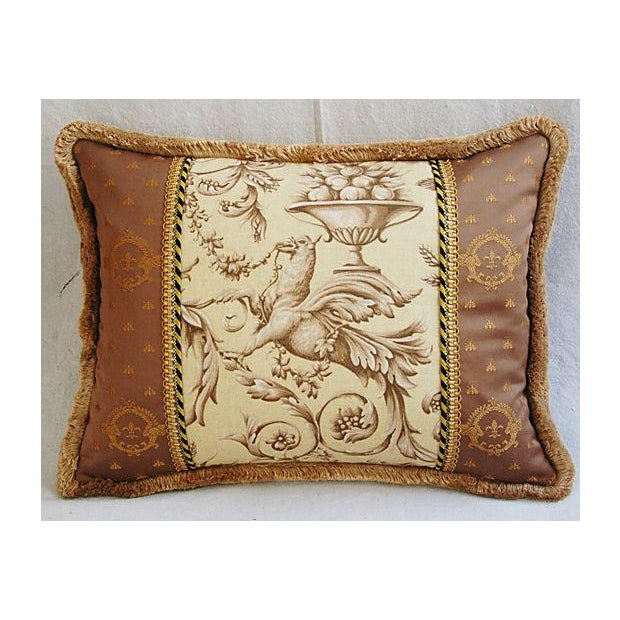 Image of Designer Braemore Mythical Griffin Pillows - Pair