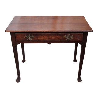 1740 Antique English Oak Table