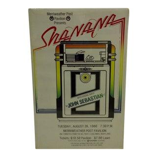 Vintage Sha-Na-Na Concert Poster