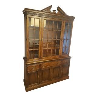 2-Piece Breakfront Display Cabinet
