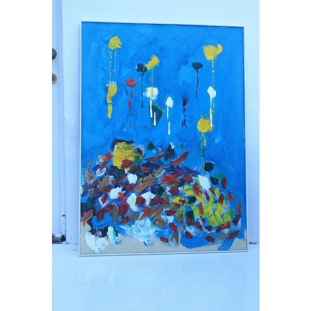 Jose Perdomo Vintage Expressionist Painting - Image 5 of 11