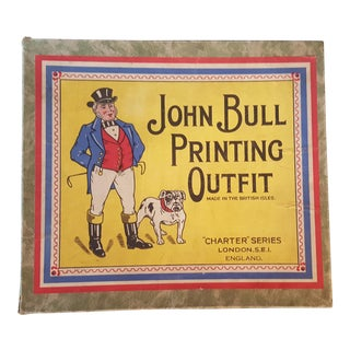 Antique John Bull Printing Outfit