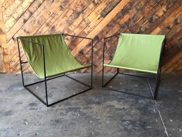 how to make seats for wrought iron chairs