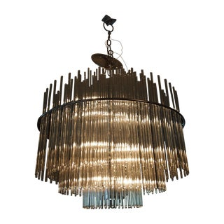 Gaetano Sciolari for Lightolier Italian Chandelier