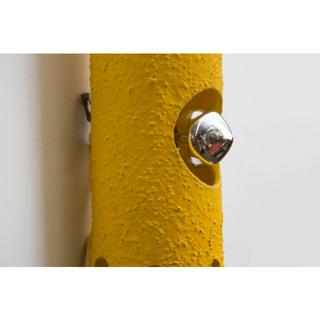 Yellow Ceramic Wall Sconce - Image 4 of 7