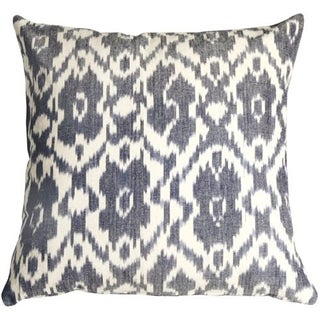 Pillow Decor - Caravan Ikat Old Blue 20X20 Pillow