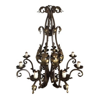 Dana Creath Metal Chandelier