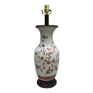 Vintage Cherry Blossom Lamp