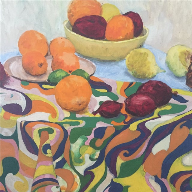 Fruit Still Life by Lynn Molenda, 1968 - Image 2 of 9