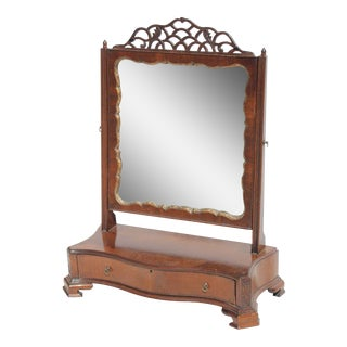 Boston Chippendale Dressing Mirror, Circa 1770