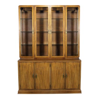 Davis Cabinet Company Lighted Display Cabinet