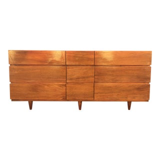 American of Martinsville Mid-Century Long Low Dresser