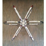 Image of Milo Baughman Chrome Concentric Coffee Table Base