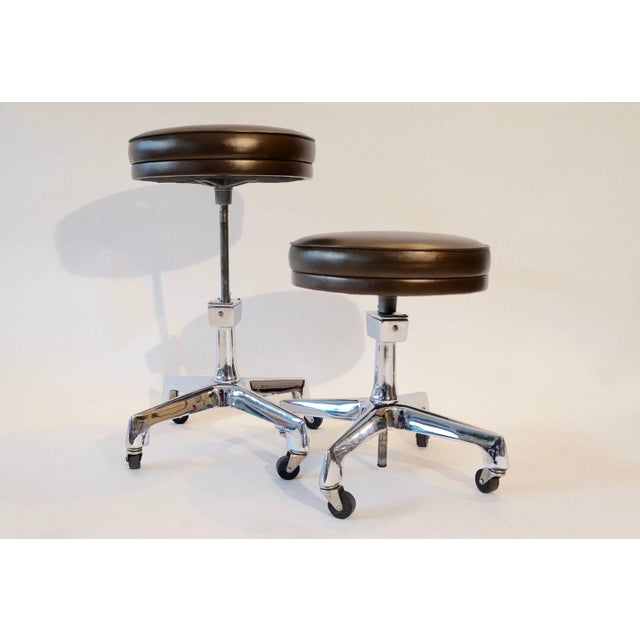 Image of Two Reliance Industrial Stools