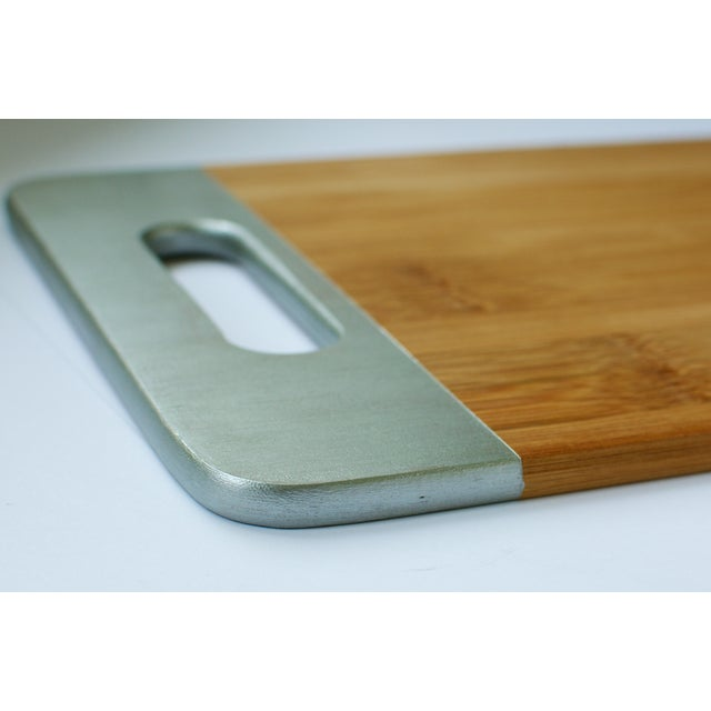 Image of Silver Bamboo Cutting Board